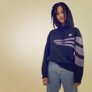 Adidas originals Linear Hoodie 💜 medium ✨